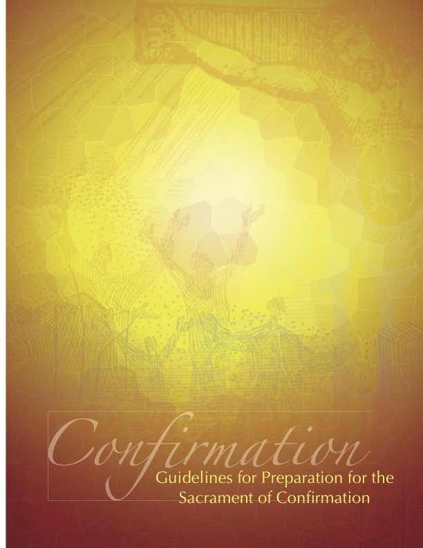 Introduction to Confirmation Guidelines