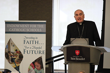 Breakfast with the Bishop a success for the Catholic ...