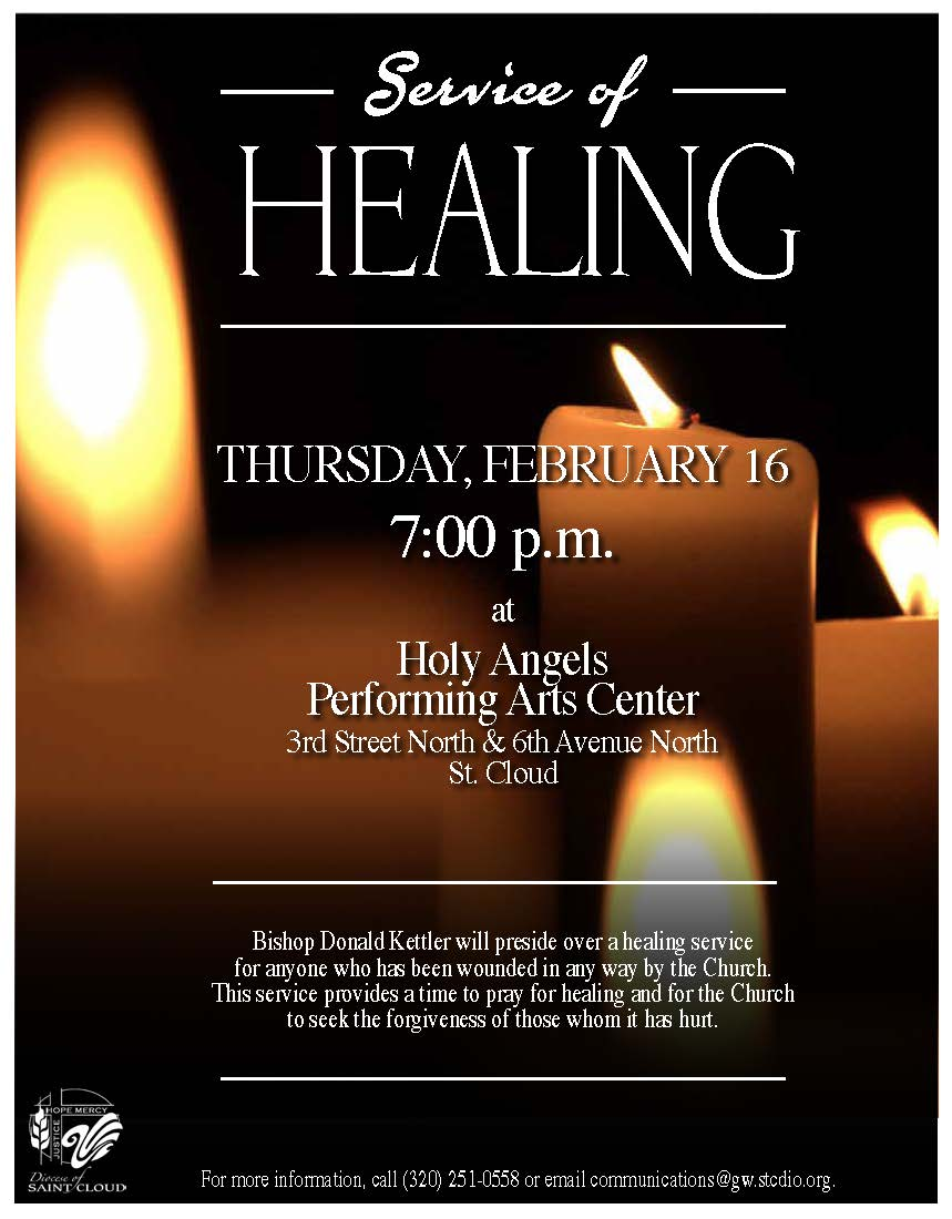 Service of Healing - Diocese of Saint Cloud